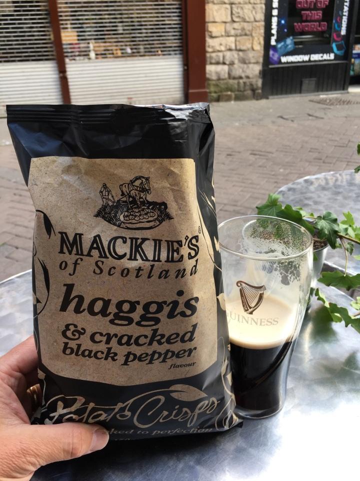haggis chips pic
